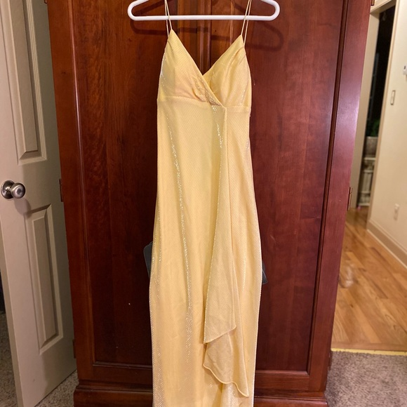 De Laru Collection Dresses & Skirts - BANANA COLOR FORMAL DRESS NWT!